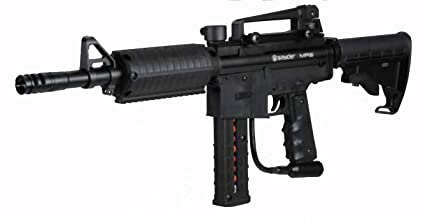 Amazon Com Spyder Mr6 Paintball Gun Black Sports Outdoors