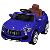 Costzon Kids Ride On Car, Licensed Maserati 6V Battery Powered Vehicle, Parental Remote