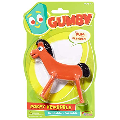 Gumby Characters - NJ Croce Pokey Bendable