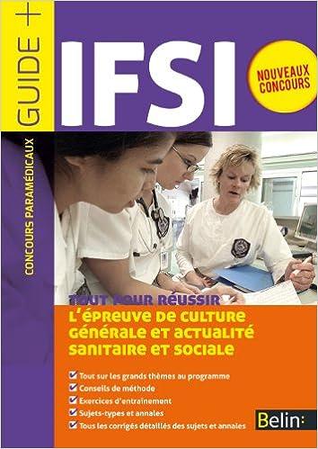 Lire un Concours IFSI, l'épreuve écrite d'admissibilité pdf