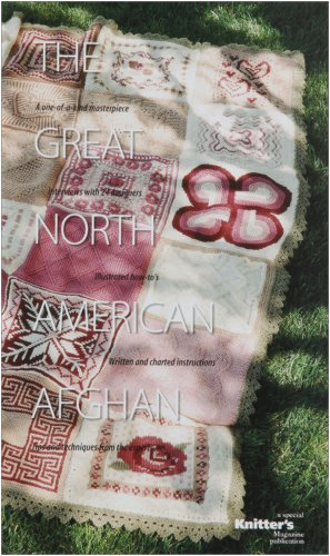 Book Great Afghan American (The Great North American Afghan: Interview with 24 Designers by