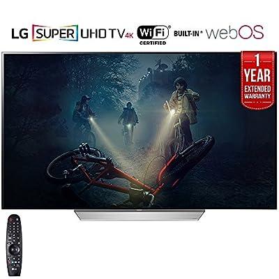 """LG OLED55C7P - 55"""" C7P OLED 4K HDR Smart TV (2017 Model)"""