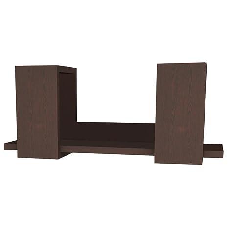 Amazon Com Ada Home Decor Winslow Modern Floating Wall Shelf 24 X
