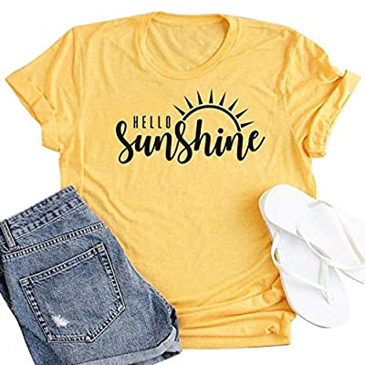 Women Positive Vibes Only Letters Print T-Shirt Cute Pineapple Print Graphic Tees Tops