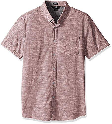 volcom-mens-everett-oxford-woven-short-sleeve-shirt-mauve-x-large