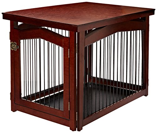 Merry Pet 2-in-1 Configurable Pet Crate and Gate, Medium (Table Crate)