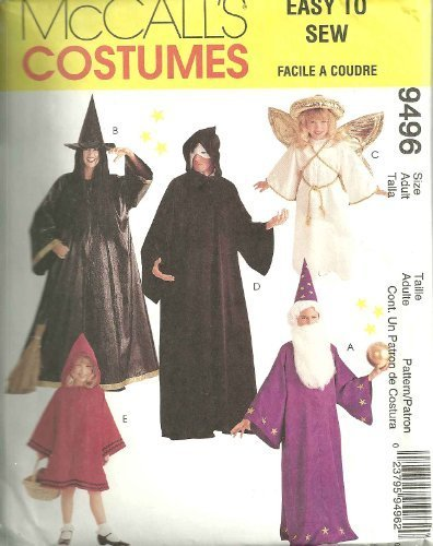 Kids And Adult Costumes McCall's Sewing Pattern 9496 (Size Adult: 34-48) by McCall's