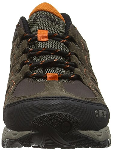 Hi-Tec Signal Hill Waterproof, Zapatillas de Senderismo para Hombre Gris (Dk Chocolate/dk Taupe/burnt Orange)