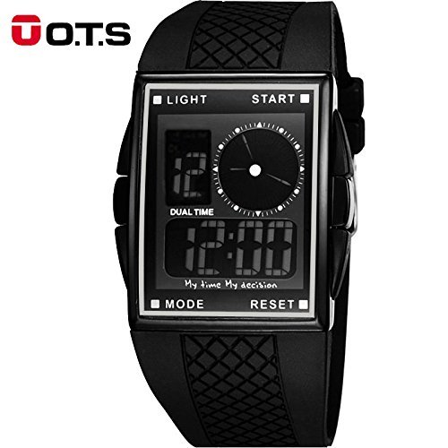 Amazon.com: Fashion Sport Watch Men Electronic Digital LED Male Clock For Men Hodinky Relogio Masculino 2018 New: Cell Phones & Accessories
