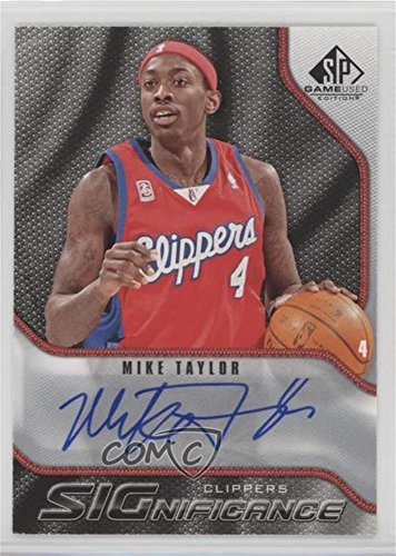 - Mike Taylor (Basketball Card) 2009-10 SP Game Used - Significance Autographs - [Autographed] #S-MT