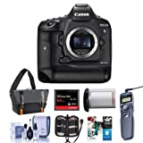 Canon EOS-1DX Mark II Digital SLR Camera - Bundle With 64GB Compact Flash Card, Camera Bag, LP-E19 Battery, Remote Shutter Trigger, Cleaning KIt, Memory Wallet, Software Package