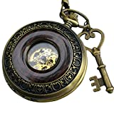 Steampunk pocket watch necklace pendant locket pwvh