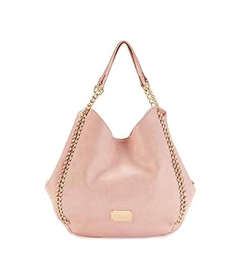 BEBE USA Colette triple entry shoulder bag blush