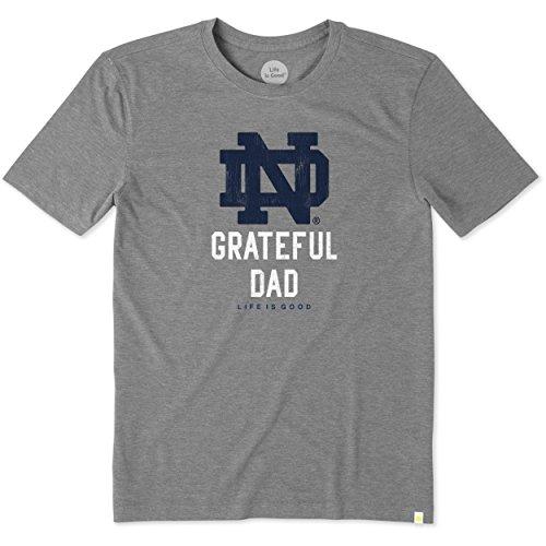 NCAA Men's ND Grateful Dad Cool Tee
