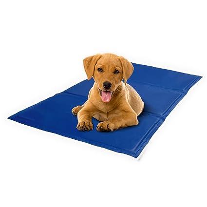 KAYI Alfombra de enfriamiento para mascotas para perros Gel de enfriamiento autoestirable para mascotas Alfombrilla para