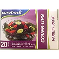 Cubiertas para alimentos StorIt Cover-Ups, Caja de 20