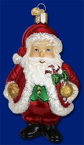 Old World Christmas Jolly Old Elf Ornament ()