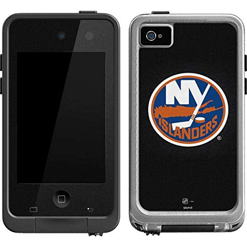 New York Islanders Ipod Skin (NHL New York Islanders LifeProof fre iPod Touch 4th Gen Skin - New York Islanders Black Background)