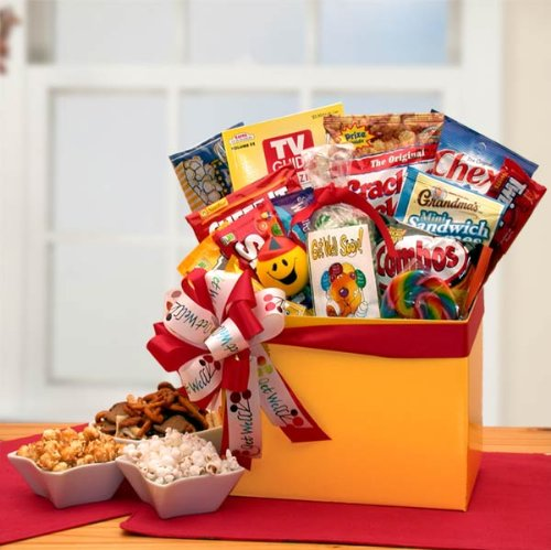 Get Well Gift Sending Get Well Wishes Gift Basket