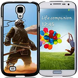 Beautiful And Unique Designed With Cyborg Weapons Sky Sand For Samsung Galaxy S4 I9500 i337 M919 i545 r970 l720 Phone Case