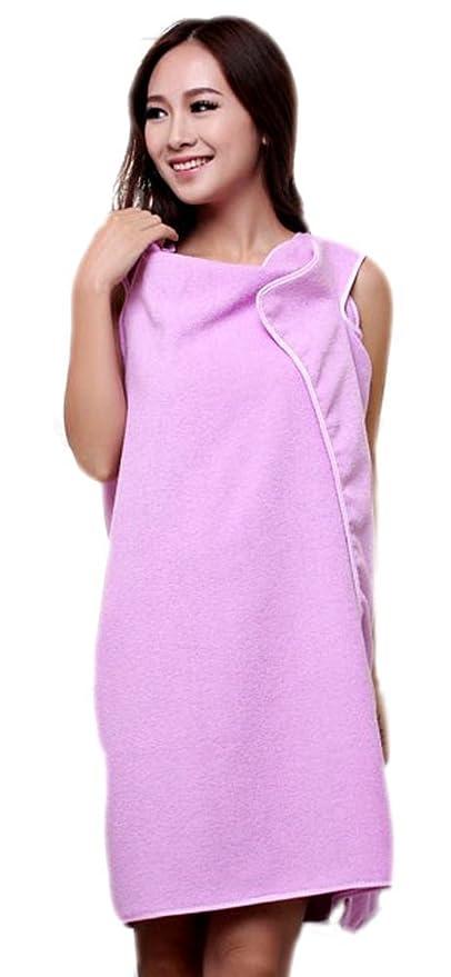 Mr.Caller New Womens Ladies Bathrobes Body Wrap Bath Towel For Sauna ...