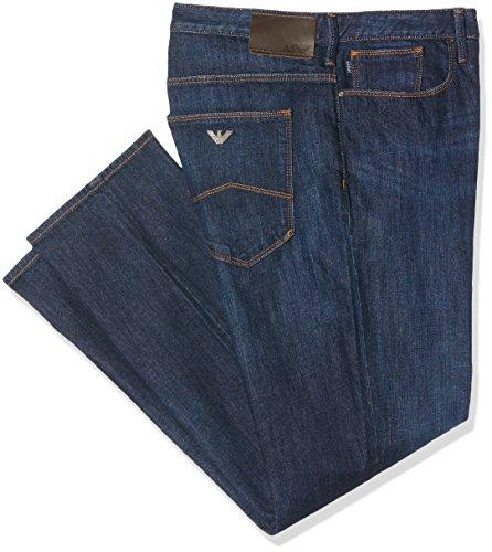 Armani Jeans 8N6J06 Slim Fit J06 Indigo Blue Jeans W38
