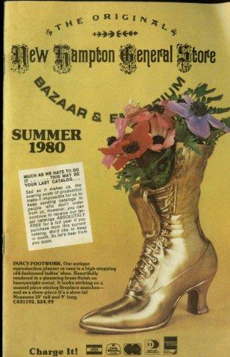 New Hampton General Store Novelty Knickknack Décor catalog Summer 1980 (Hampton Stores)