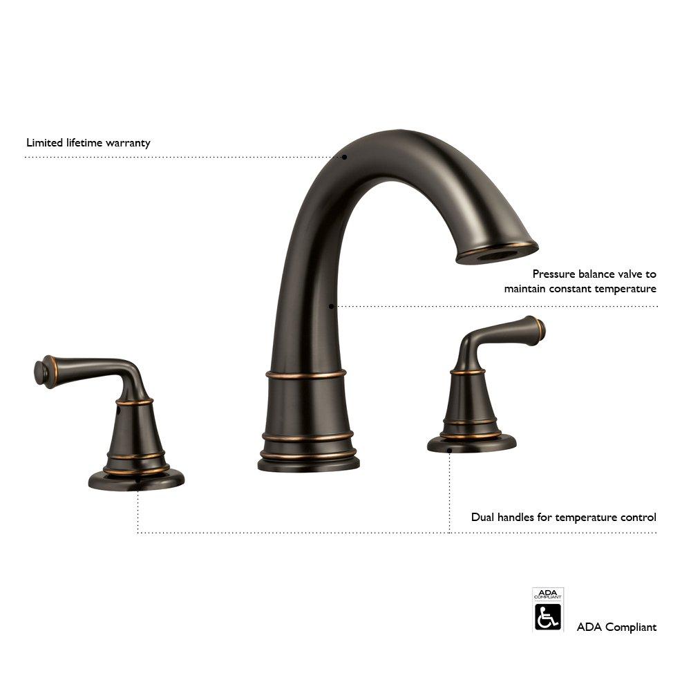 Design House 524611 Eden Roman Tub Faucet