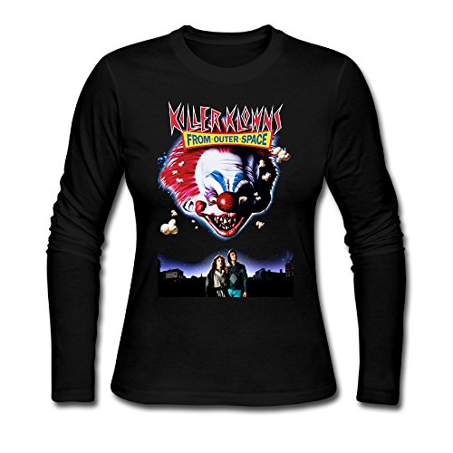 Women Killer Klowns From Outer Space Tshirt Long Sleeve
