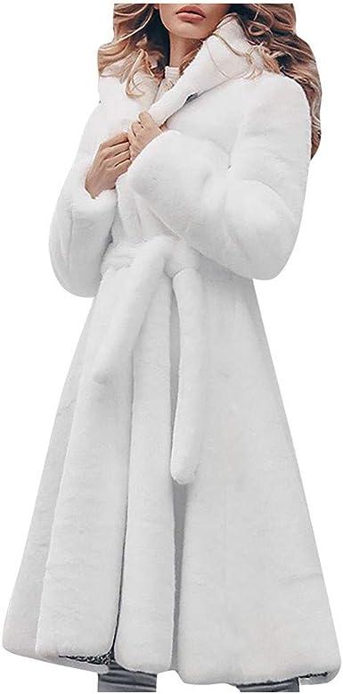 manteau fourrure capuche long