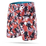 Stance Men's Panthers Combed Cotton Boxer Underwear (Red, Medium)