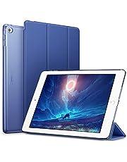 ESR Custodia Case iPad Air 2, Yippee Colour Series Case Trifold Smart Cover for iPad 2 Case Oro Rosa
