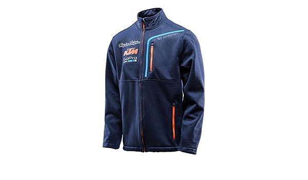 Amazon.com: Troy Lee Designs Mens 2016 Team KTM Pit Polar Zip Sweater Sweatshirt 2X-Large Navy: Automotive