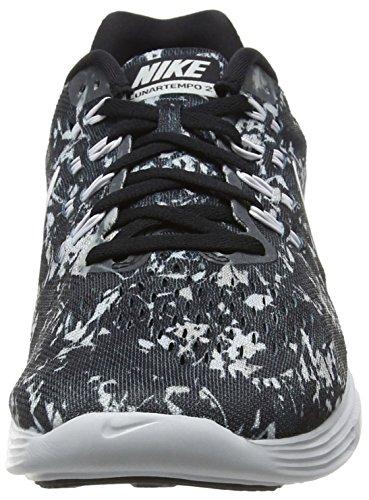 Nike Menns Lunartempo To Print Svart / Hvitt-pr Pltnm-wlf Gry 831418-001_9