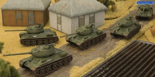 K-1 T-34/85M Ironclad Company Platoon - 1:100 Scale by Flames of War ()