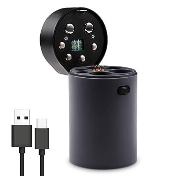 Amazon.com: Cargador de batería, USB multifunción Smart ...