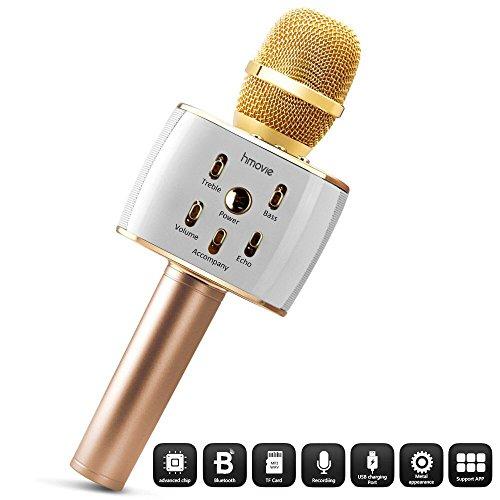 Best Buy! 2600mAh Karaoke Microphone,10W Loud SOUND,Live Karaoke Effect, Wireless Singing Machine,Po...