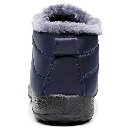 Women's Snow A LINGTOM blue Winter Boots g7Ww446qv