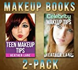 Makeup Books 2-Pack (Teen Makeup Tips and Celebrity Makeup Tips)