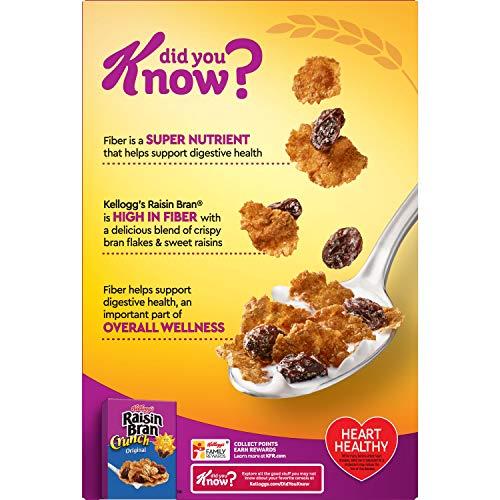 Raisin Bran Original Breakfast Cereal, 16.6 OZ, 3Count
