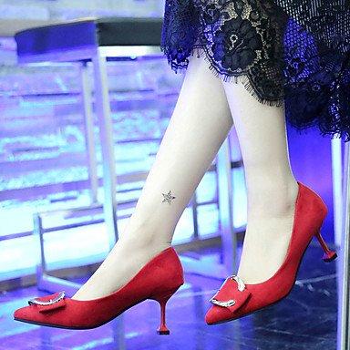 5 Eté 5 Rose Cachemire 9 Combinaison Chaussures Rouge Noir 7 LvYuan ggx black Marche Talon Femme à Aiguille cm Talons à wOUwYZq
