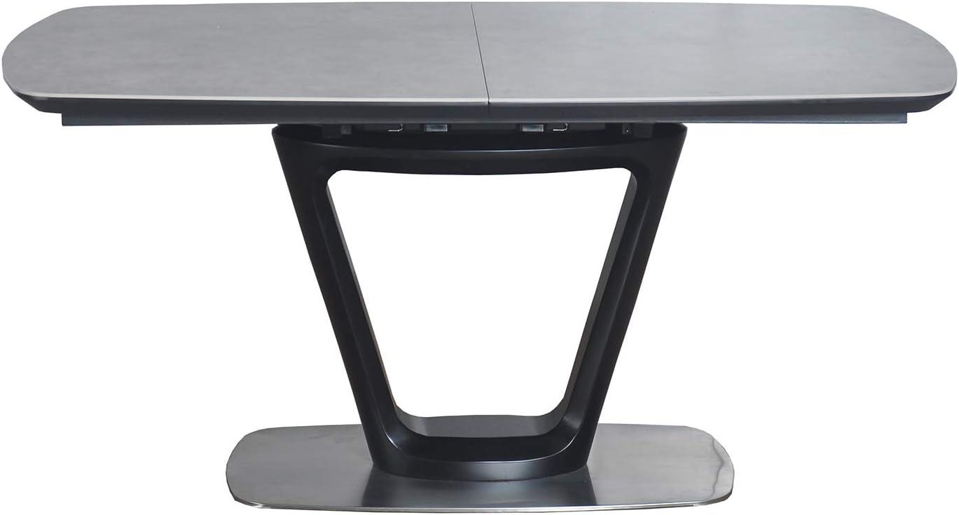 Meubletmoi - Mesa de Comedor Extensible 160/200 cm, Rectangular ...