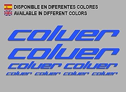 Ecoshirt OT-8ZKX-SA1F Pegatinas Coluer F214 Stickers Aufkleber ...