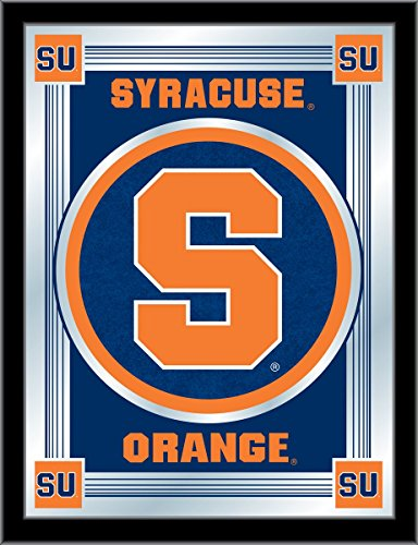 NCAA Syracuse Orange Logo Mirror, 17 X 22-Inch by Holland Bar Stool Company