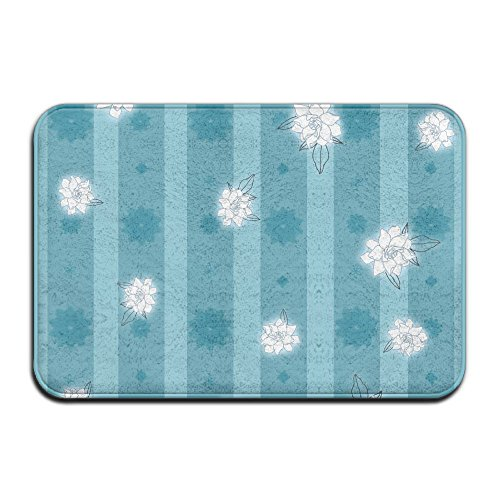 15 By 27 By 1-Inch Gardenia \r\nOutdoor Doormat Backing Non Slip Door Mat For Small Front Door Inside Floor Dirt Trapper - Gardenia Velvet