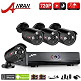 ANRAN 4CH Outdoor AHD DVR 1080N 720P Video Surveillance Security System with 4 Channels HD 720P IR Bullet Cameras Network Home Video Kits (Night Vision, Motion Detect, Free App, No HDD) For Sale