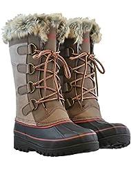 Khombu Womens Waterpoof Winter Boots Size 10