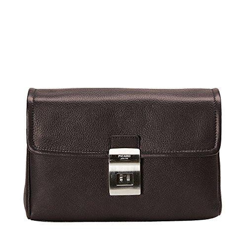 Picard Wrist Bag Origin Cafe [055] Marrone