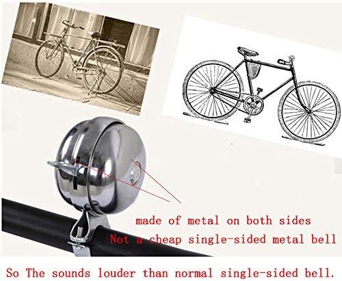 1x Bicycle Bell Road Mountain Bike Mental Plastic Bell Sound Bike Handleb TDCA