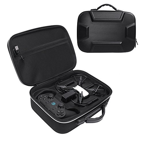 Zaracle Hard Carrying Case EVA Travelling Bag Case Protect Cover Suitcase Storage Bag for DJI Tello Quadcopter Drone and Remote Controller